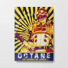 OCTANE Metal Print