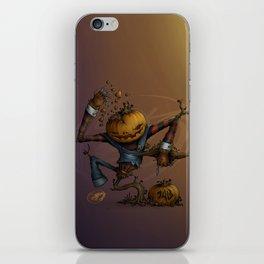 Freddy Pumpkins iPhone Skin