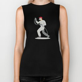 spray painter spraying paint gun retro Biker Tank