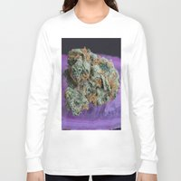 medical Long Sleeve T-shirts featuring Jenny's Kush Medical Weed by BudProducts.us