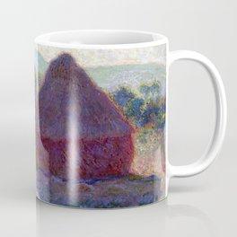 Claude Monet Meules, Milieu du Jour (Haystacks, Midday) Coffee Mug