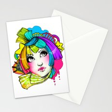 Violent Bright Stationery Cards