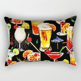 Cocktail Hour in the Tropics Rectangular Pillow