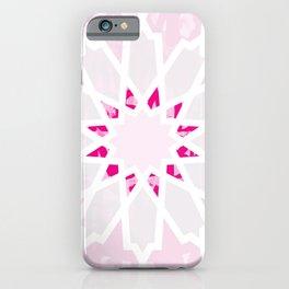 PINK Los Angeles Geometric Art iPhone Case