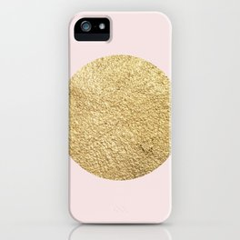 Geometric composition V iPhone Case