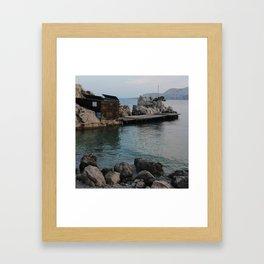 Nr Fish Framed Art Print