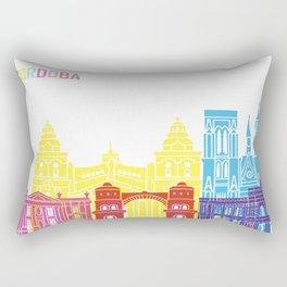 Cordoba AR skyline pop Rectangular Pillow