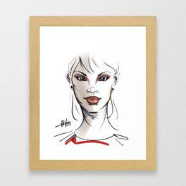 Fashionably Uncompromising Framed Art Print