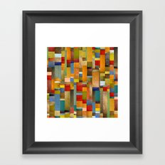 Pieces Parts Framed Art Print