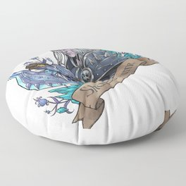 Prince of Darkness Floor Pillow