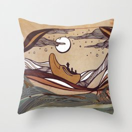 Winkin' Blinkin' & Nod Throw Pillow