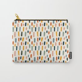 Rainbow Confetti Pattern Carry-All Pouch