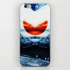 mission blue iPhone & iPod Skin