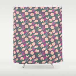 Millenial Time Shower Curtain