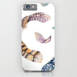 Feather pattern 2 iPhone Case