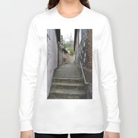 winchester Long Sleeve T-shirts featuring Winchester Alley by Ashley Callan