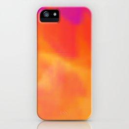 Red Sun iPhone Case