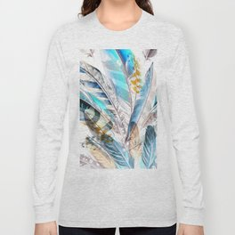 Cosmic Feathers Long Sleeve T-shirt