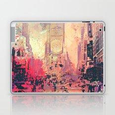 street of new york2 Laptop & iPad Skin
