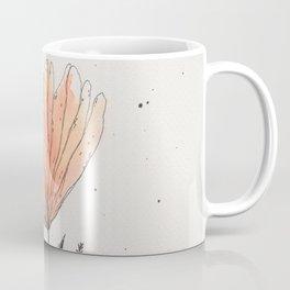 flor naranja Coffee Mug