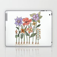 Progress flowers Laptop & iPad Skin