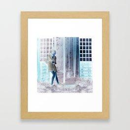 Inside Out When Outside or In Framed Art Print