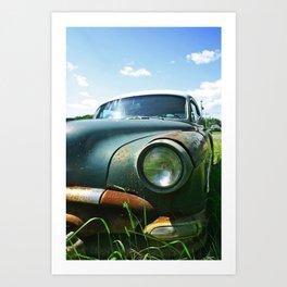 Pontiac Chieftain Art Print