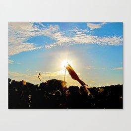 Sunlit Festivals  Canvas Print