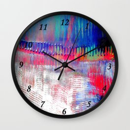 Color and white S42 Wall Clock
