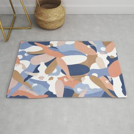 Depiction Of Self Love (blue) Rug