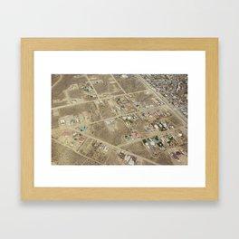 earth 3 Framed Art Print
