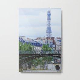 Haussmannian buildings in Paris - Fine Art Travel Photography in Paris Metal Print