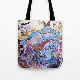 View of the Heart Tote Bag