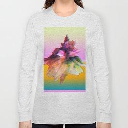 Clashing Stars Print Long Sleeve T-shirt