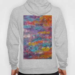 Colourful Abstract Background Hoody
