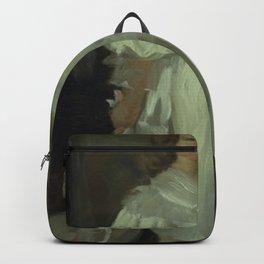 Peder Severin Krøyer - A Little Girl, Helga Melchior, in a Long Dress Backpack