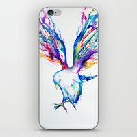 flight iPhone & iPod Skins featuring Achilles by Marc Allante