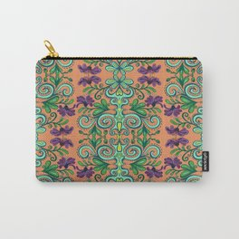 Tropical fiesta Floral Carry-All Pouch