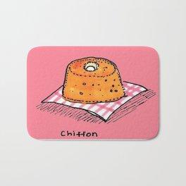 Pink Chiffon Bath Mat