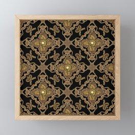 Beaded Baroque Framed Mini Art Print