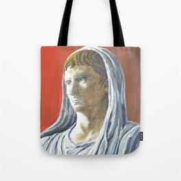 Augustus as Pontifex Maximus Tote Bag