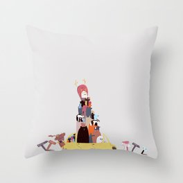 In search of Eden Throw Pillow