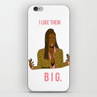 clueless iPhone & iPod Skins featuring ILIKETHEMBIG by Maritza Lugo