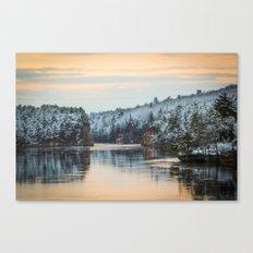 April Snowfall IV Canvas Print