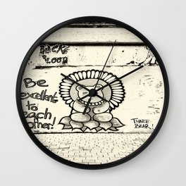 Be Excellent.... Wall Clock