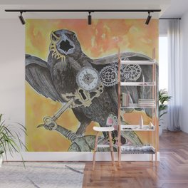 The Raven and the Serpent Wall Mural