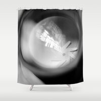 aperture Shower Curtains featuring Aperture Lashes by Aperture