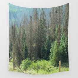 Exuberance of a Wanderer Wall Tapestry