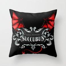 Succubus Shirt Throw Pillow