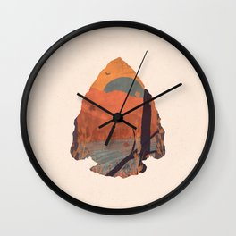 Autumn in the Gorge... - Arrowhead Wall Clock